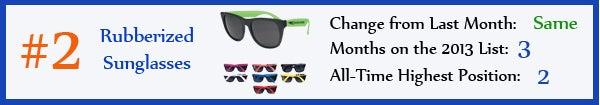 2 - Rubberized Sunglasses - mar13