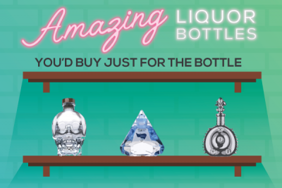 Amazing Liquor Bottles You'd Buy Just For the Bottle
