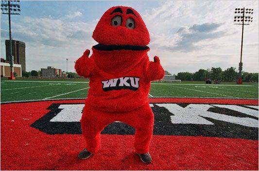 Big Red Mascot