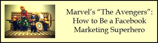 avengers facebook marketing