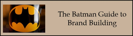batman brand-building