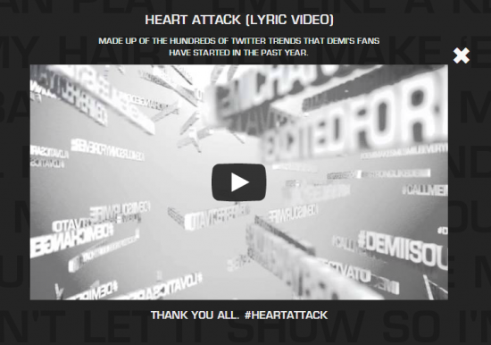 heartattacklyricvideo