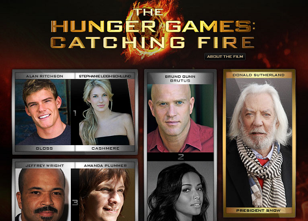 hunger games casting