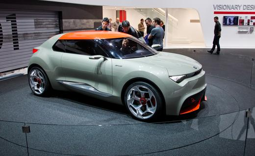 Kia Provo Concept Car (photo curtosey of CarandDriver.com)