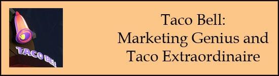 taco bell marketing