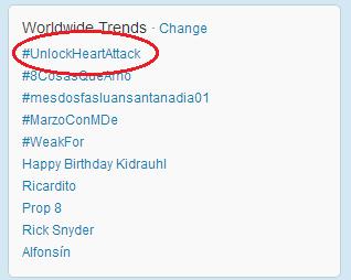 trending worldwide