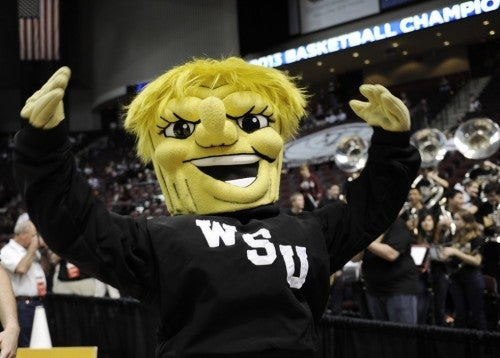 Congrats on making the sweet 16.  Now get a new mascot...