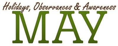 may 2013 holidays observances awareness header