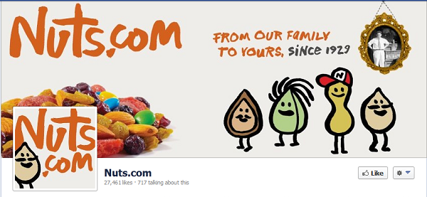 nuts dot com facebook