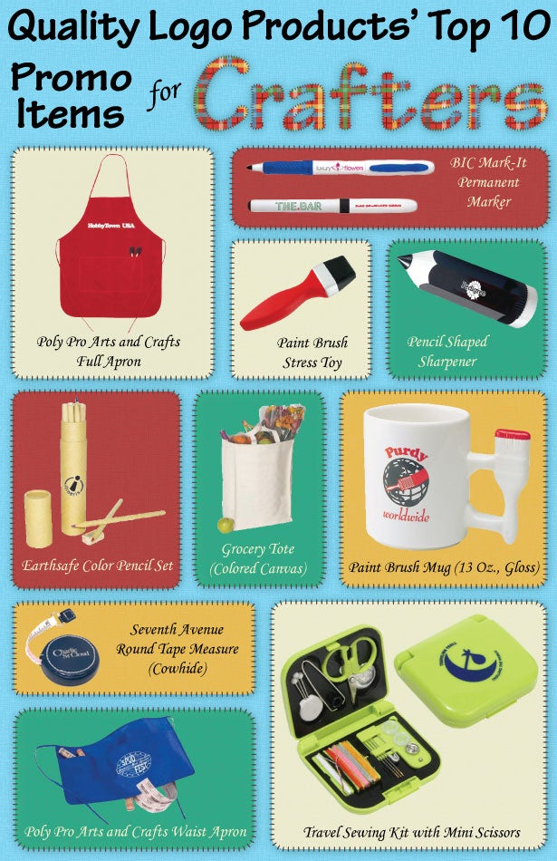 10 promo products for crafty folks start your sewing machines