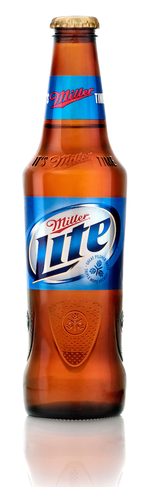 Miller Lite bottle