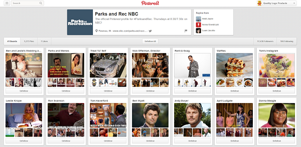 parks and recreation pinterest
