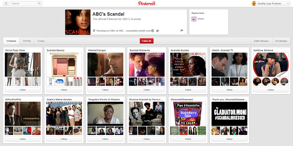 scandal pinterest