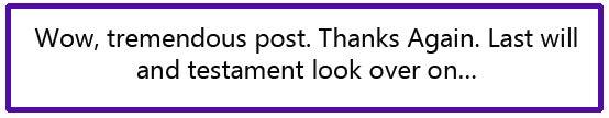 QLP Spam Comment 20