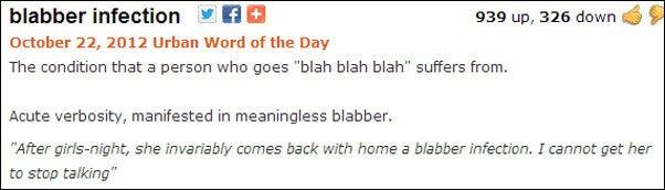blabber-infection