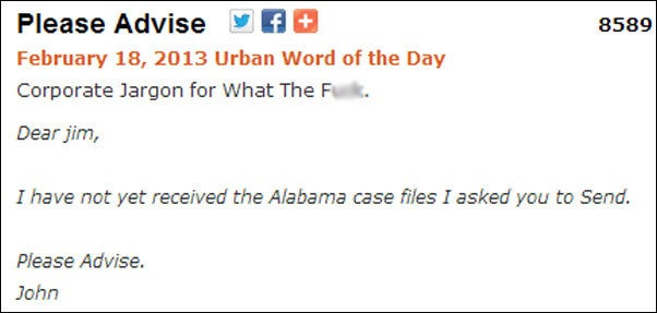 15 urban dictionary words to add to your workplace vocabulary