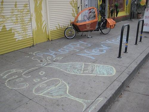 sidewalk drawin