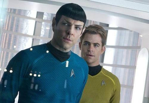 Nothing says Star Trek like Spock and Kirk.