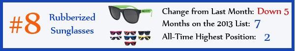 8 - Rubberized Sunglasses - jul13