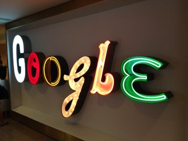 Google sign 2
