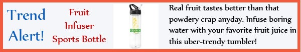 Trend - Fruit Infuser Sports Bottle - jul13