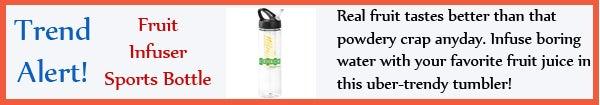 Trend - Fruit Infuser Sports Bottle - jul13