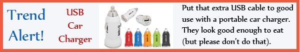Trend - USB Car Charger - jul13