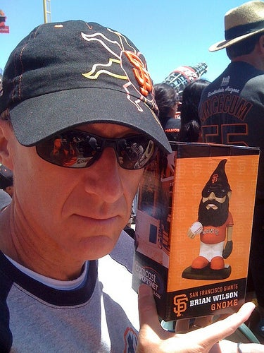 Who wouldn't want a FREE Brian Wilson bobblehead?!