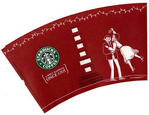 Starbucks' 2005 Holiday Cup