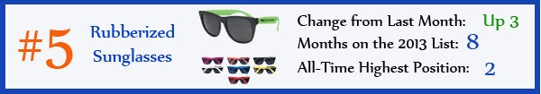 5 - Rubberized Sunglasses - aug13
