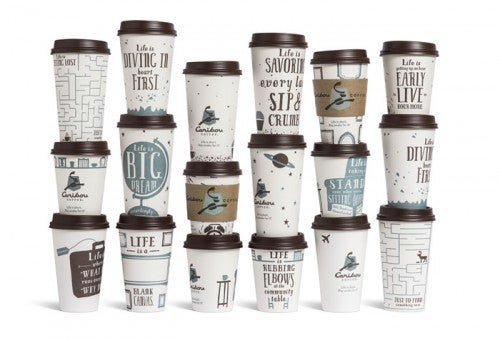A collection of all their 2013 cups