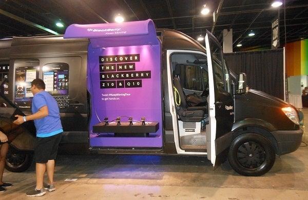 blackberry truck
