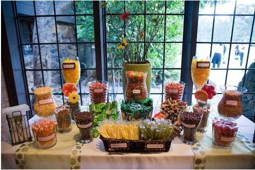 "A ""sweet"" way to celebrate with guests at your reception!"