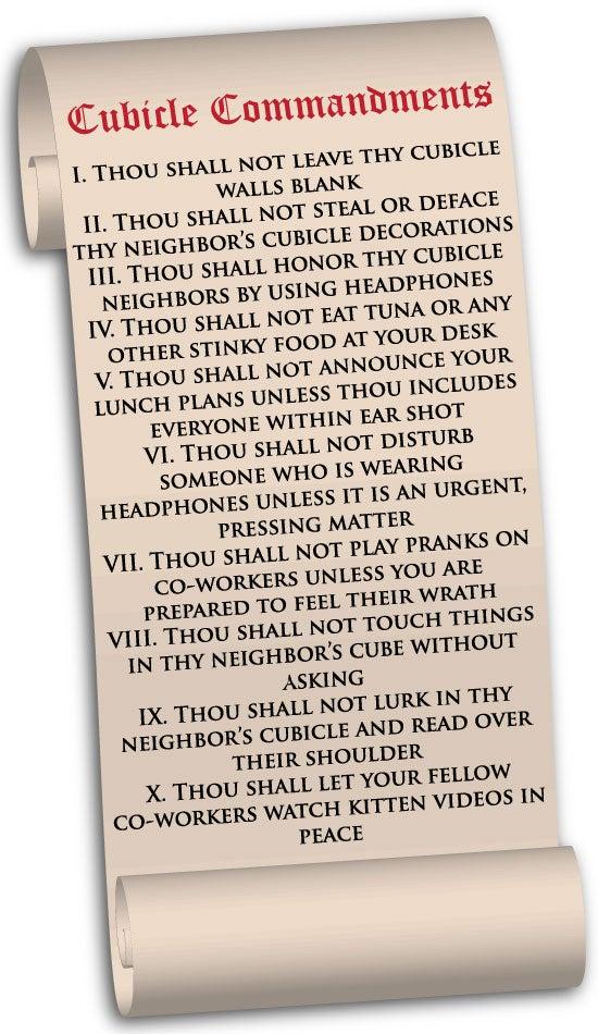 cubicle-commandments