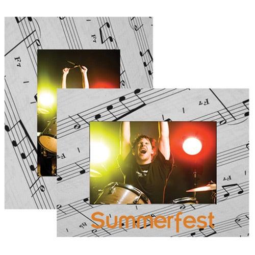 Musical Paper Easel Frame