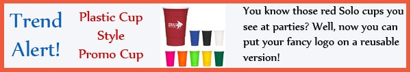Trend - Red Solo Cup Style Promotional Cup - sept13