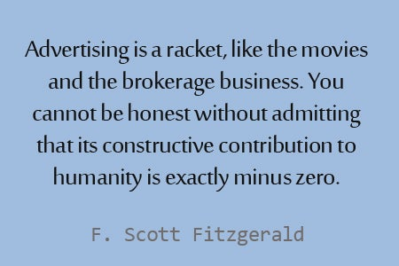 advertising-is-a-racket