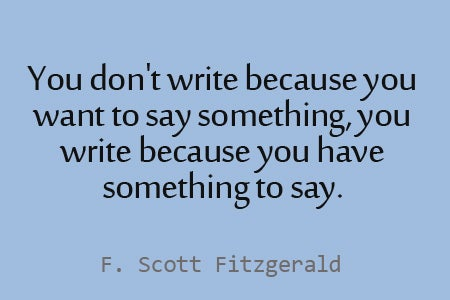 Love Quotes F Scott Fitzgerald Impressive 11 Fscott Fitzgerald Quotes To Inspire Your Blogging And Writing
