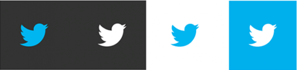 twitter logo options