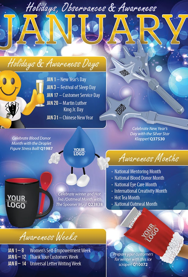 January 2014 Holidays, Observances, and Awareness Dates: Plan Your ...