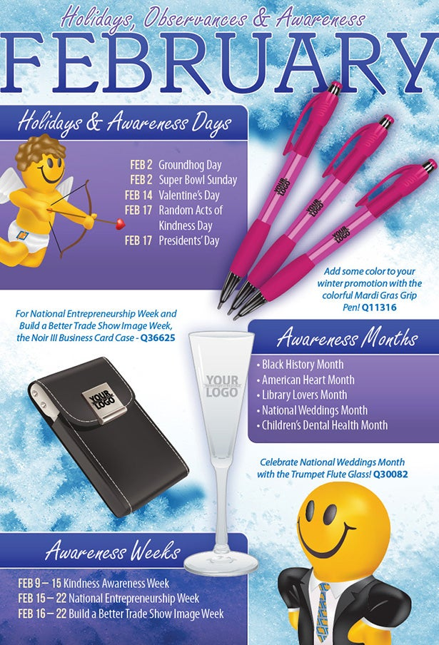 February 2014 Holidays Observances and Awareness Dates