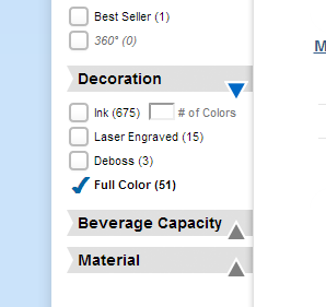 full color water bottles