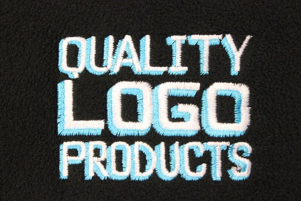 Check out the embroidery on these QLP fleece jackets!