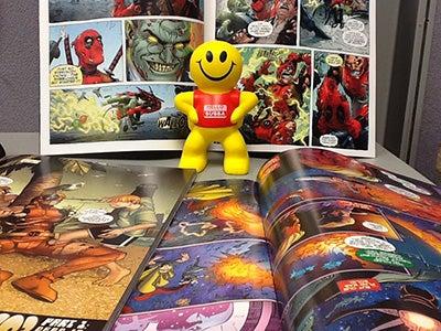 Bubba and his comics