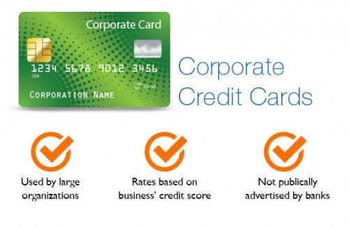 How to find the right credit card for your business creditcard table corporate corporate credit cards reheart Choice Image