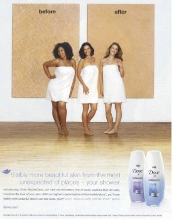 offensive dove ad