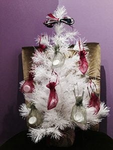 The Scrubz holiday giveaway tree