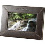 "7"" Leather Digital Photo Frame (1GB)"