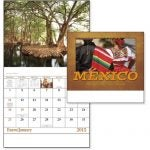 Mexico Stapled 13 Month Calendar