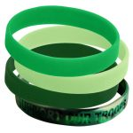 silicone-bracelet green